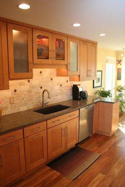 Hopewell Kitchen Remodel Recessed Lighting Wood Flooring.jpg