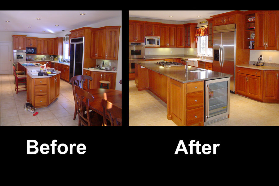 Hopewell Traditional Kitchen Renovation Before After.jpg