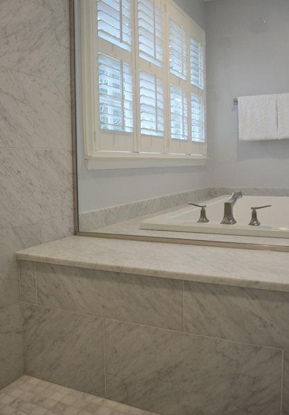 Pennington NJ Bathroom Remodel Marble Shower Seat optimized.jpg