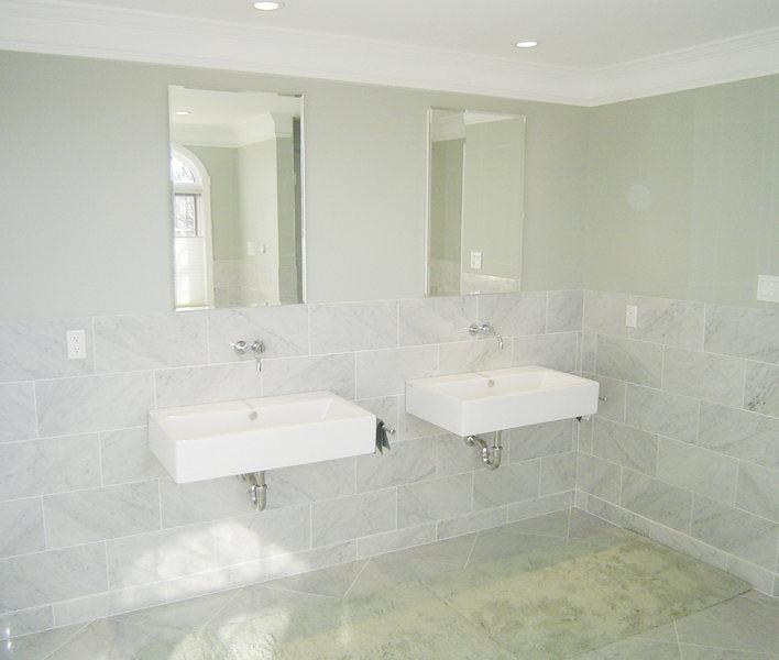 Floating Sinks Modern Hopewell Bathroom Renovation optimized.jpg