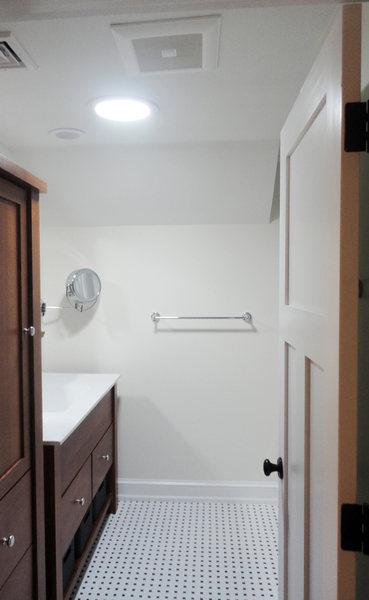 Pennington Bathroom Remodel Black White Tiles Wood Vanity optimized.jpg