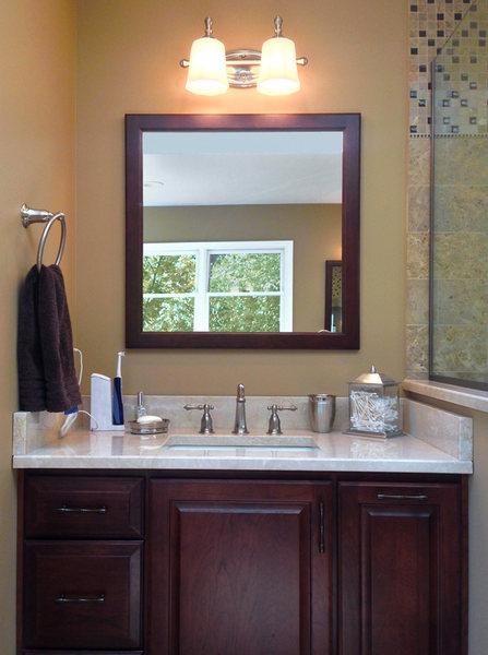 Bathroom Renovation A&E Construction Wood Vanity Marble Floors optimized.jpg
