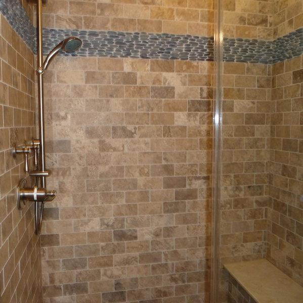 A&E Construction Neutral Tile Pebble Flooring Bathroom Remodel optimized.jpg