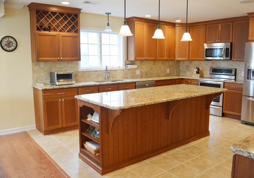 Granite Pendant Lighting Tile Flooring Beach House A&E Construction optimized.jpg