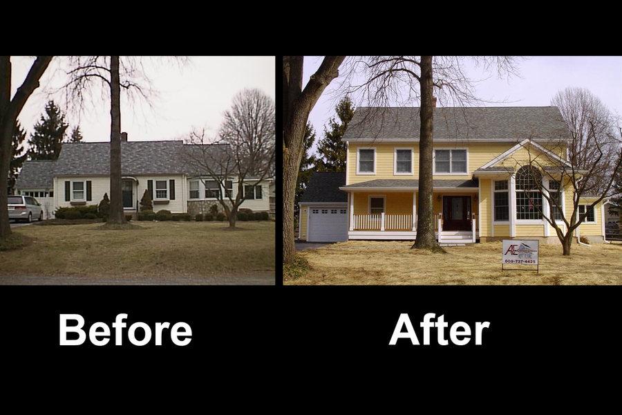 Pennington Home Addition Before After.jpg