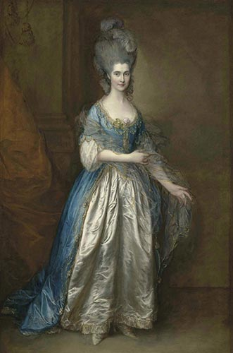"""Mrs. William Villebois"" von Thomas Gainsborough"