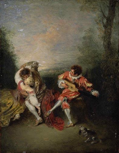 """""""La Surprise"""" von Jean Antoine Watteau"""