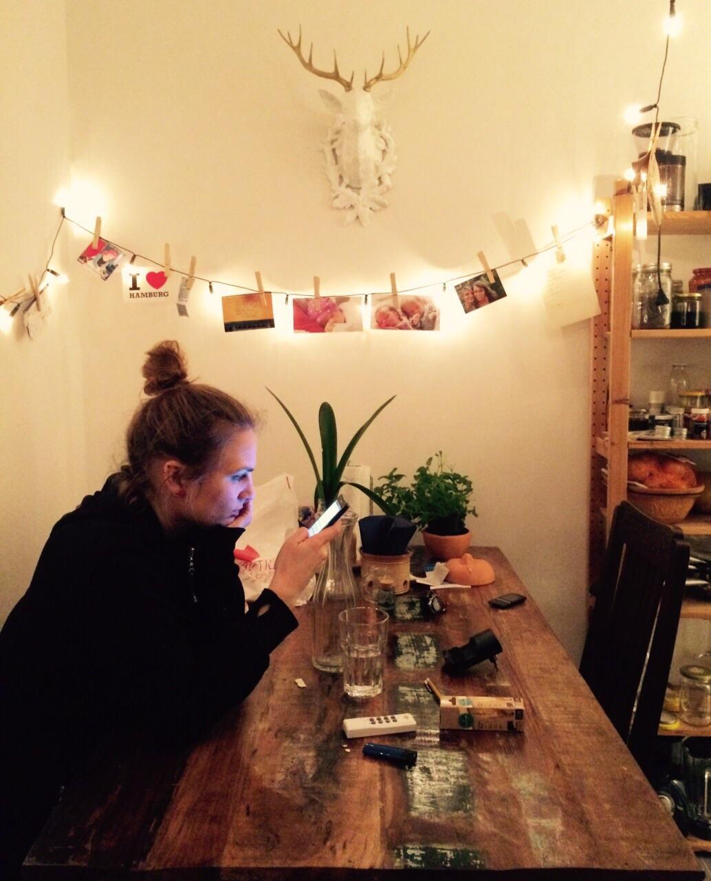 #messyhairbun #küche #zitronenmelisseimtopf #hashtag
