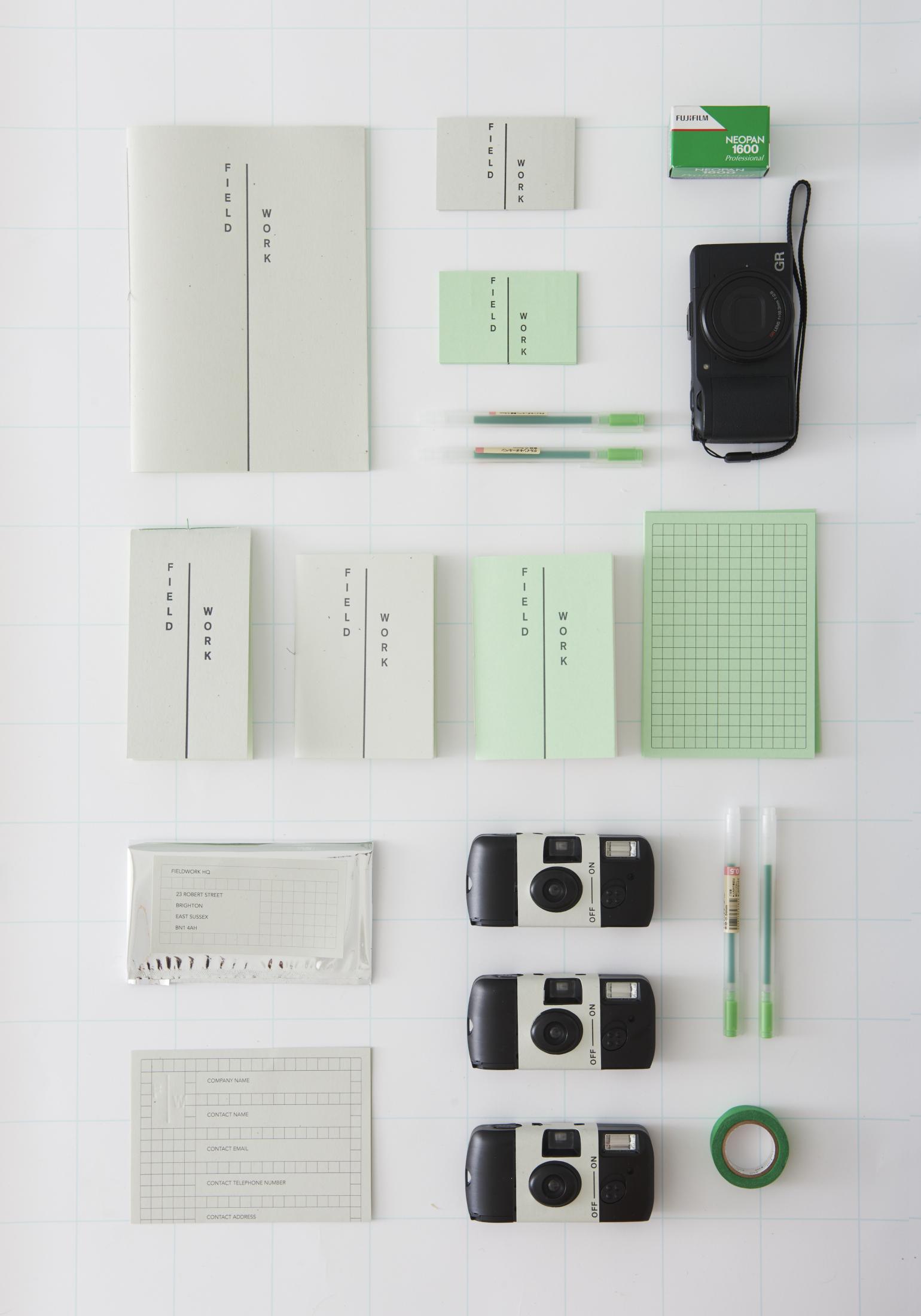 Fieldwork DIY Kits—Photograph by  David Charbit
