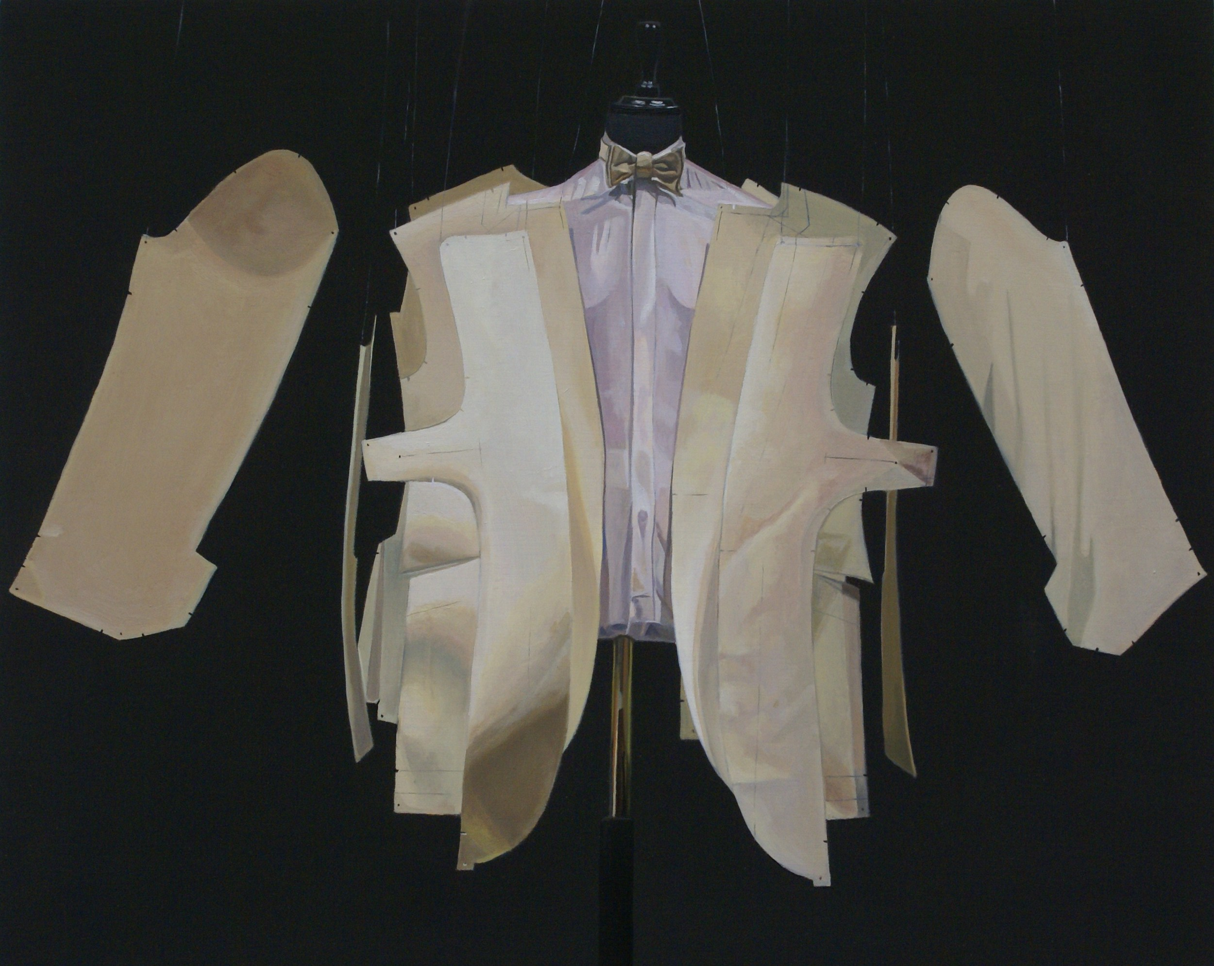 Savile Row XI Oil on Board 20x25cm.JPG