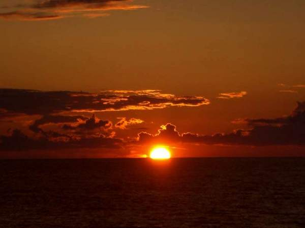 Port Austin Sunset over Lake Huron.jpg