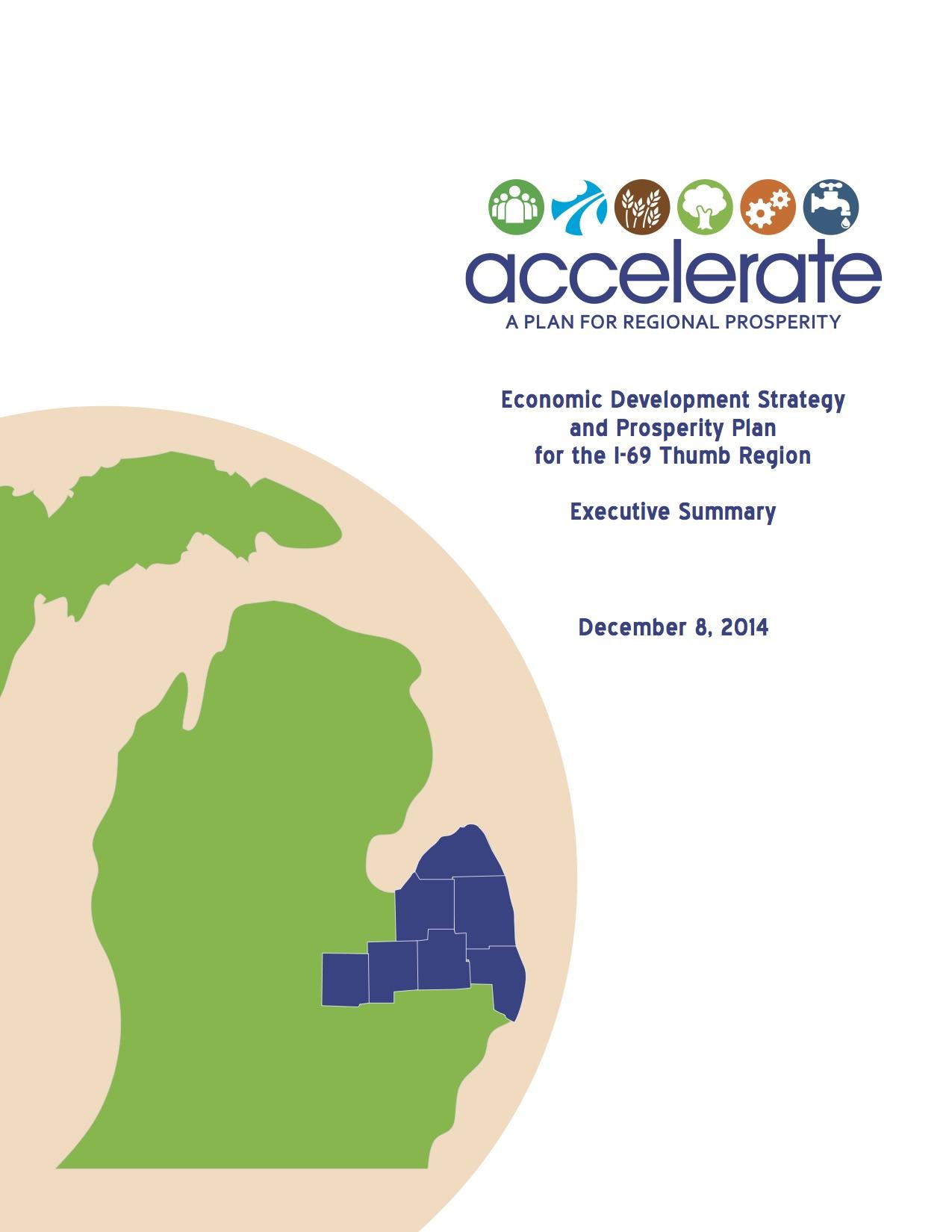 Accelerate. A Plan for Regional Prosperity