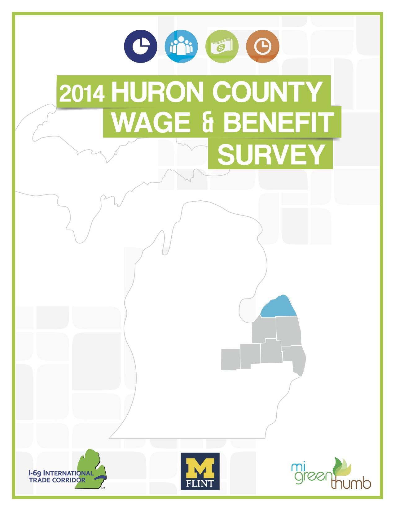 2014 Huron County Wage & Benefit Survey