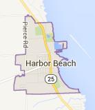 Harbor Beach Map