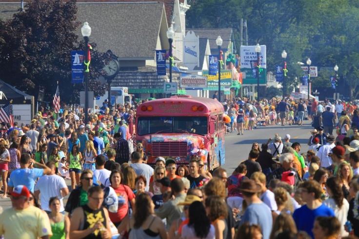 Cheeseburger in Caseville Festival