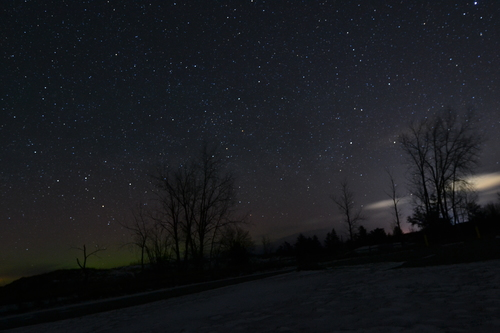 Dark Sky Preservation located within Port Crescent State Park.