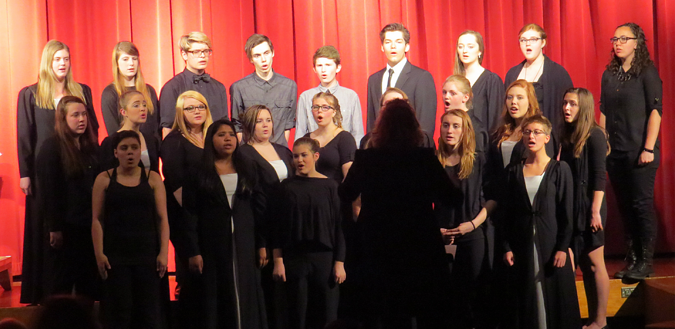 Fine Arts Choir at Laker High School