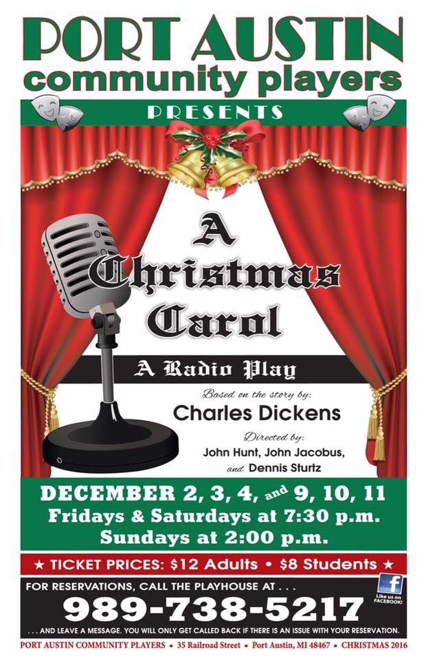 PACP - A Christmas Carol: Radio Play