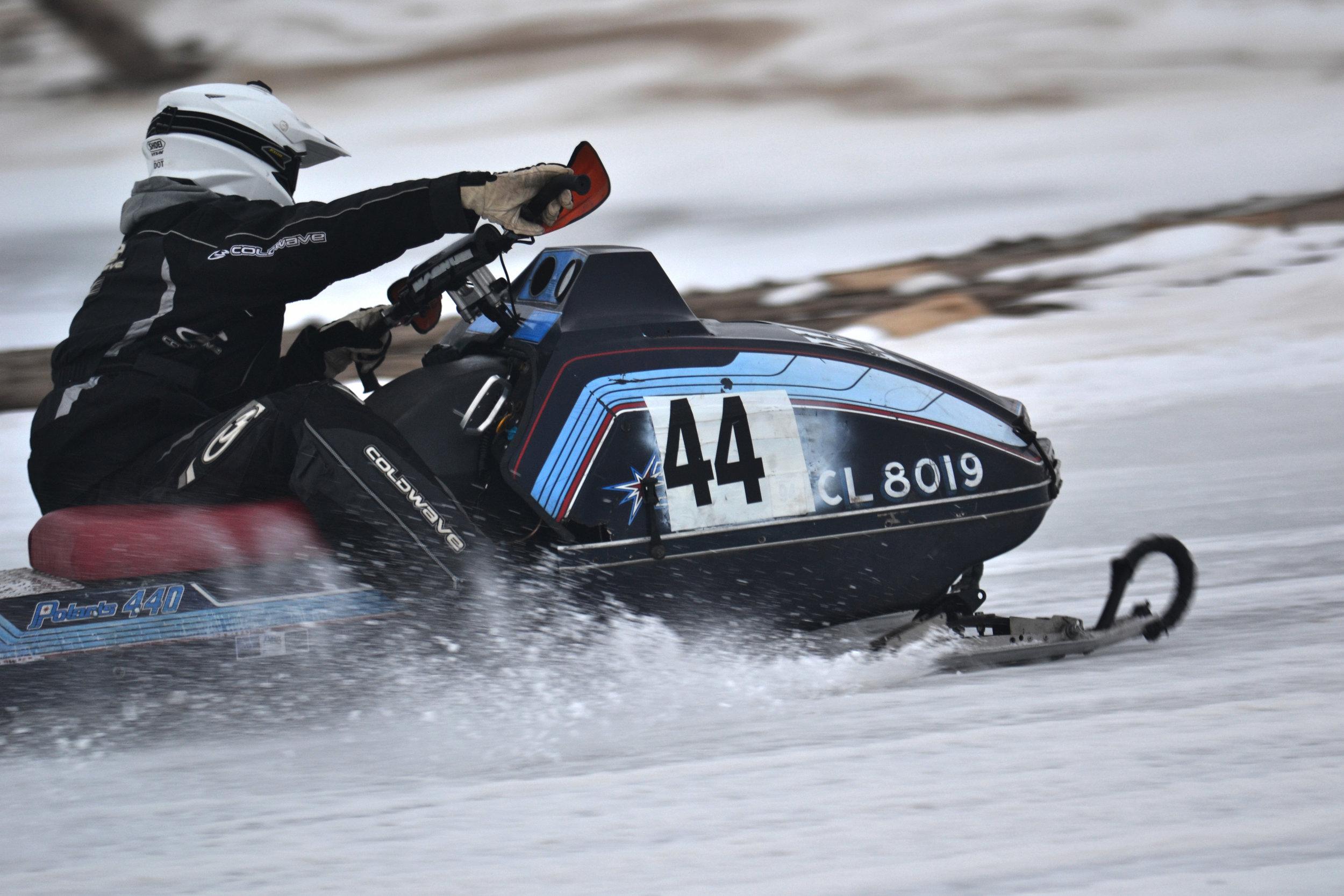 Snowmobiling Huron County - Ice Race