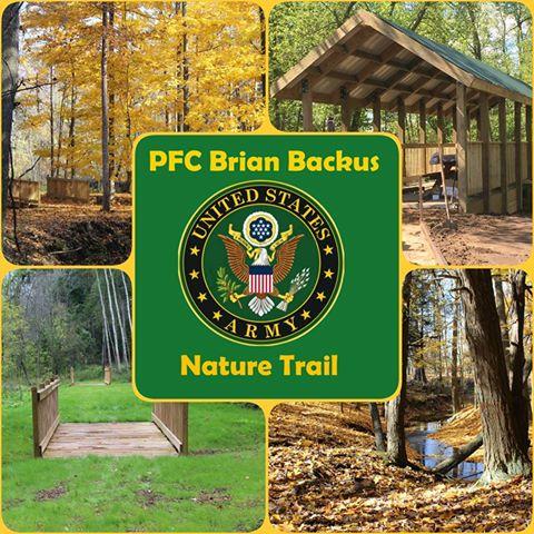 PFC Brian Backus Nature Trail Harbor Beach