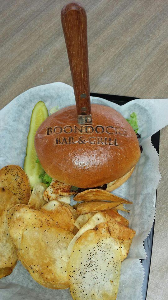 Boondock's Bar & Grill Food