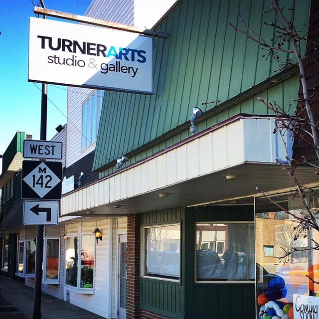 TurnerArts Studio & Gallery Outside of Building