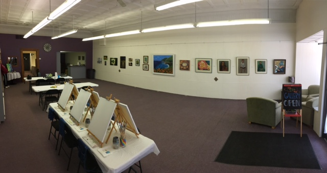 TurnerArts Studio & Gallery Inside