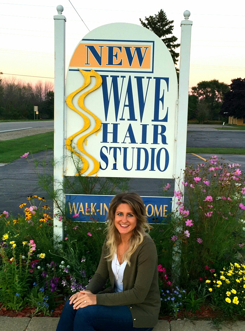 Erica Persuki, owner New Wave Hair Studio