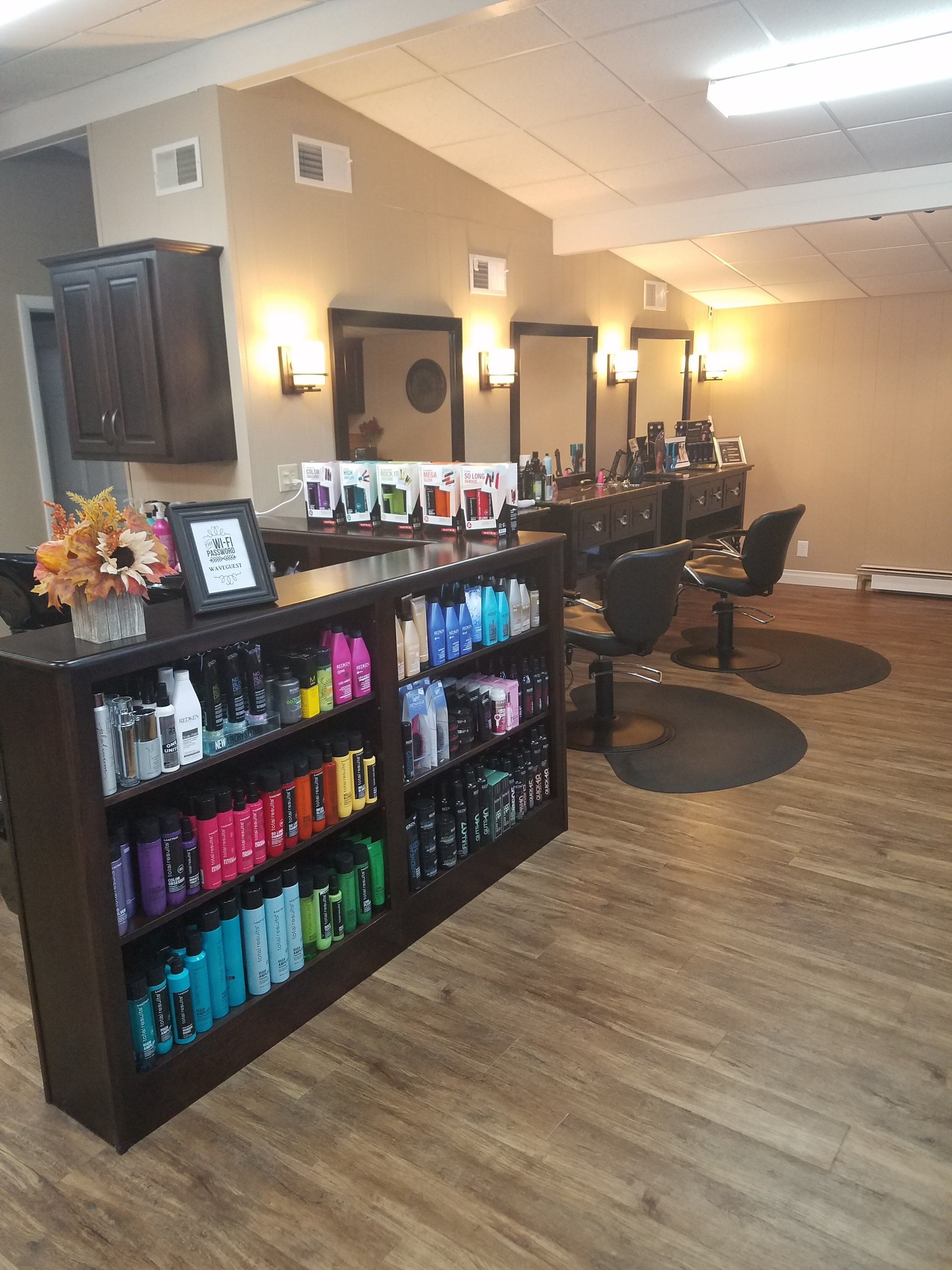 New Wave Hair Studio Inside
