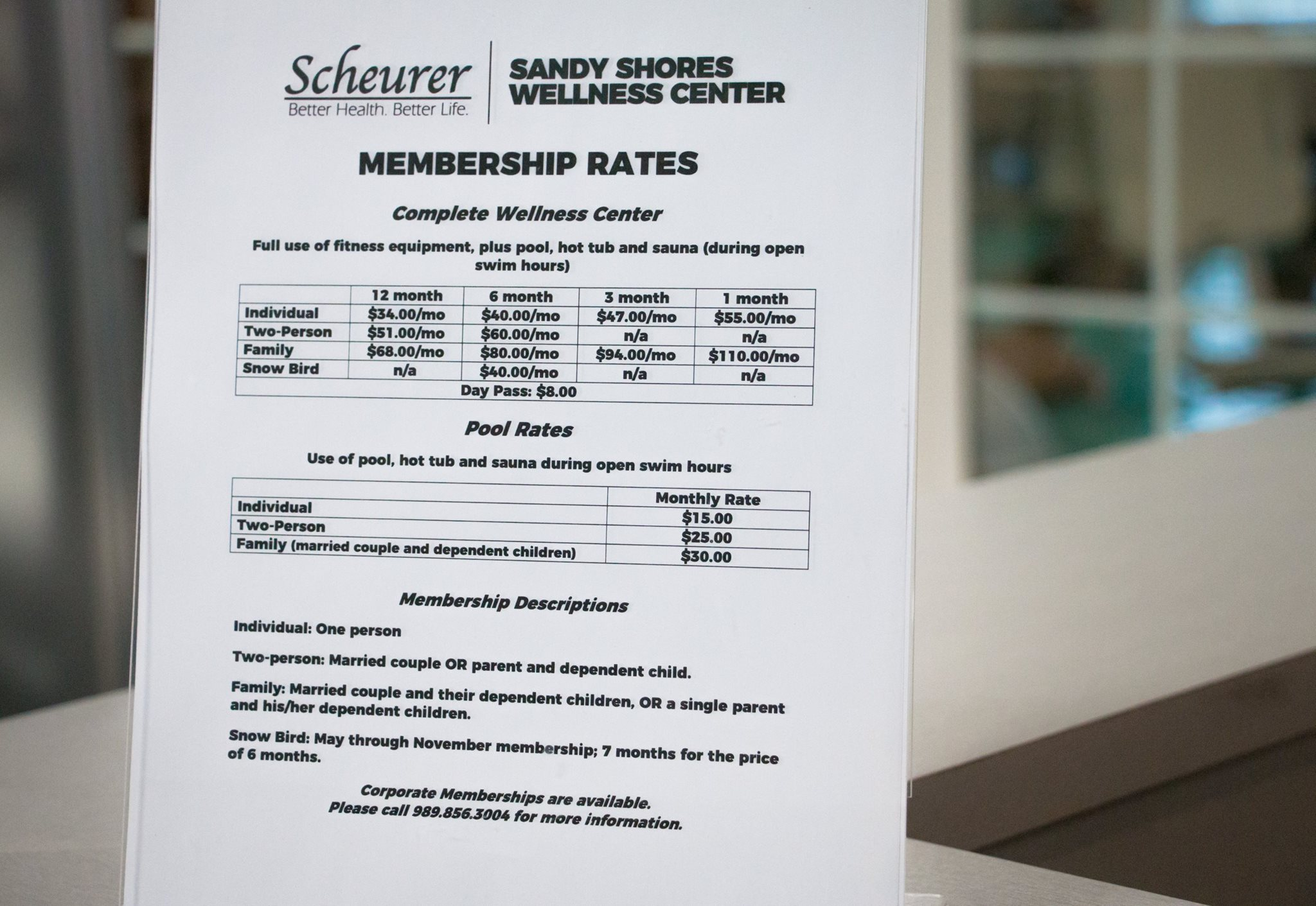 Sandy Shores Wellness Center - Membership Rates.jpg