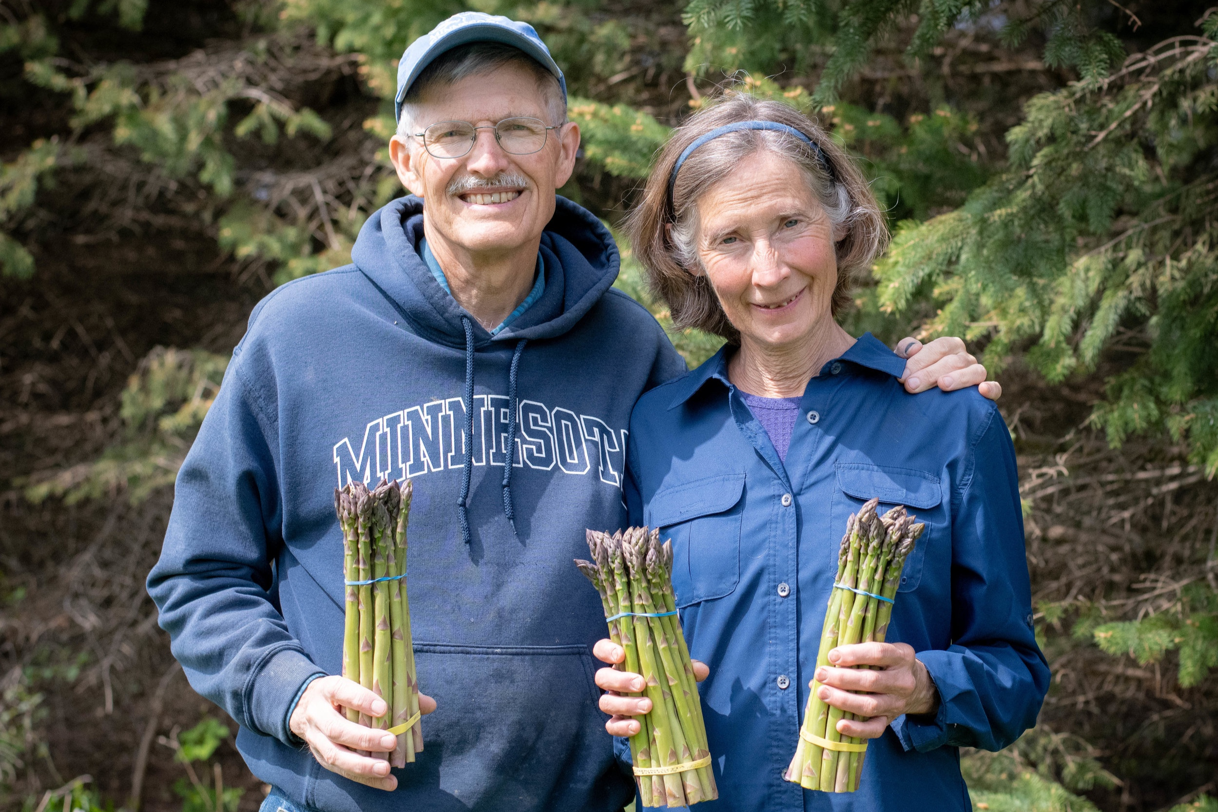 Asparagus harvest is over for 2019. We will be back next May!