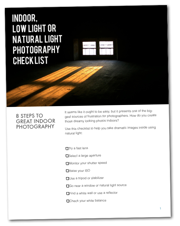 Click to download your checklist.