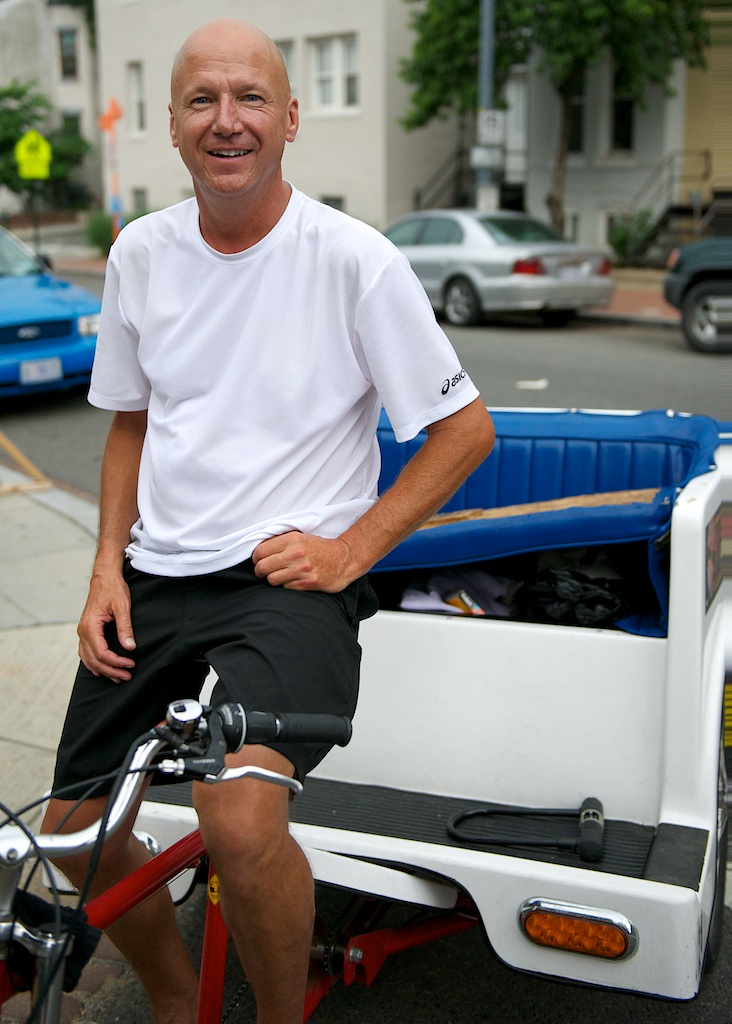#7 John, the pedicab driver