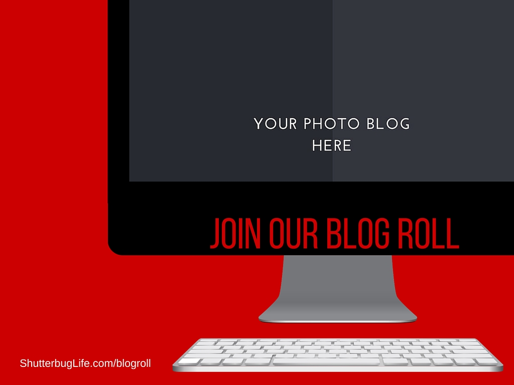 When you get your photo blog set up, join our blog roll. We want to follow you.
