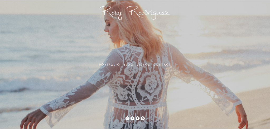 Roxy Rodriguez website