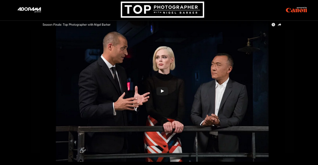Top Photographer show