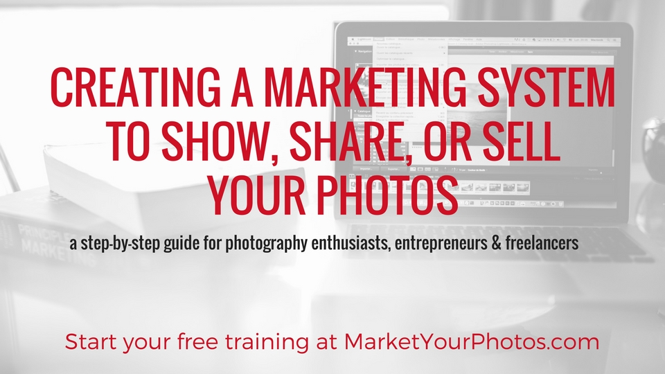 This week's podcast episode is part of a photography marketing course. Enroll for free now.