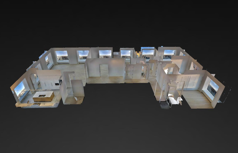 Our tours offer a unique and interactive 3D Floor-plan view.