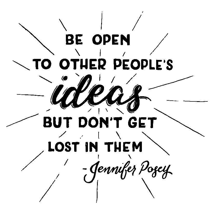 Lettering featured in  'It Just Keeps on Getting Sweeter: Meet Jennifer Posey '.