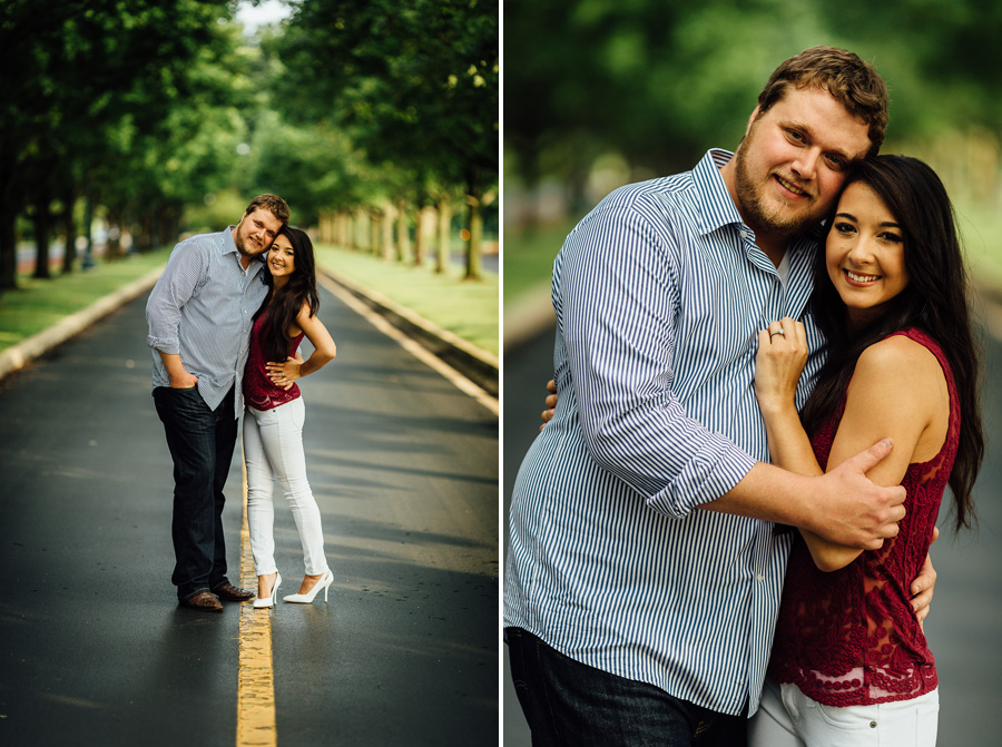 lexington kentucky wedding photographer engagement session keeneland-9