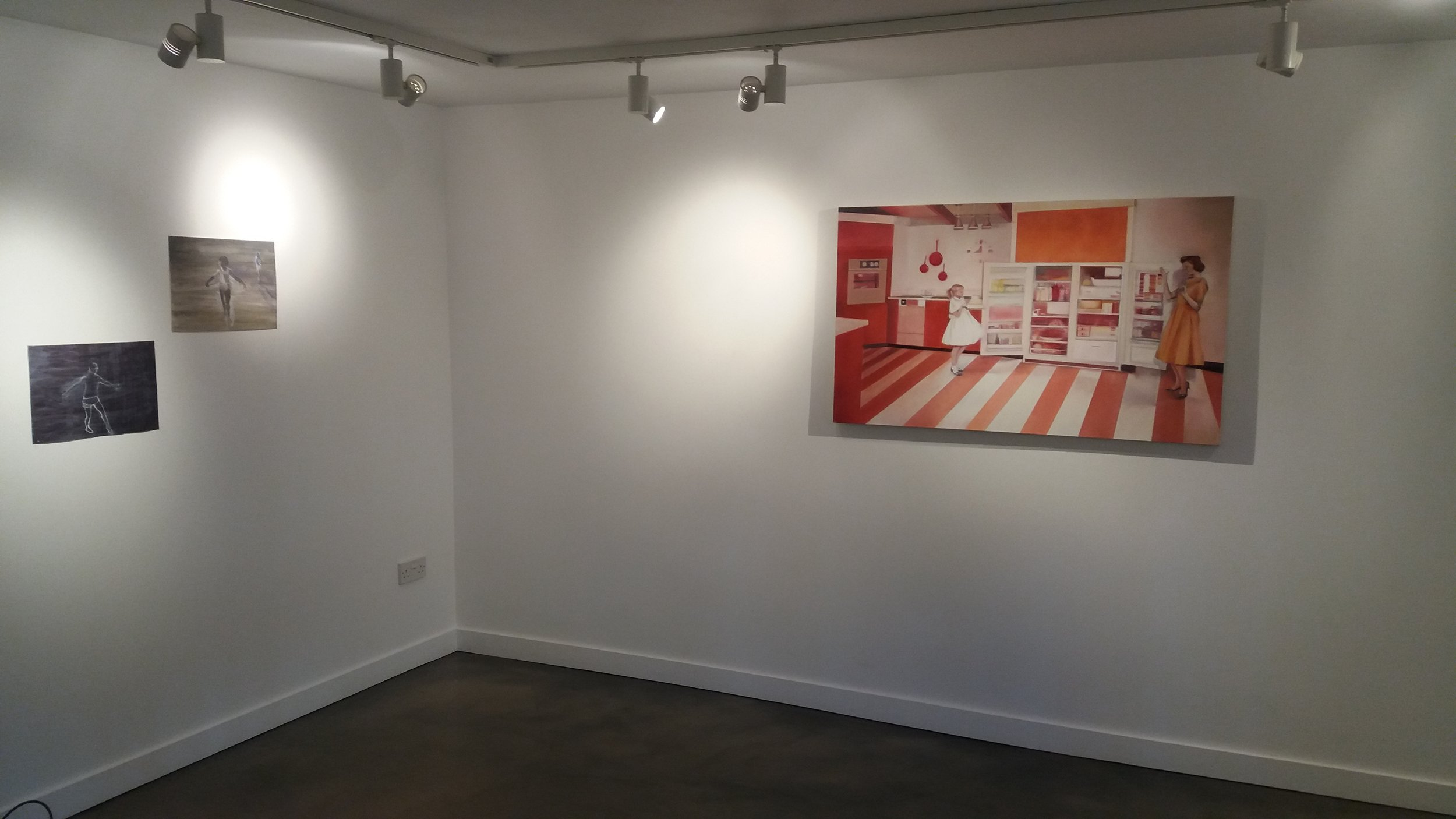 The exhibition at Tripp Gallery