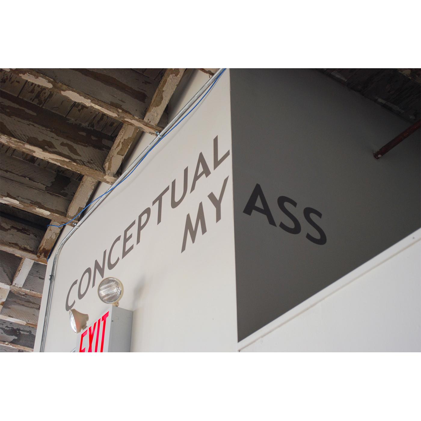 Conceptual My Ass