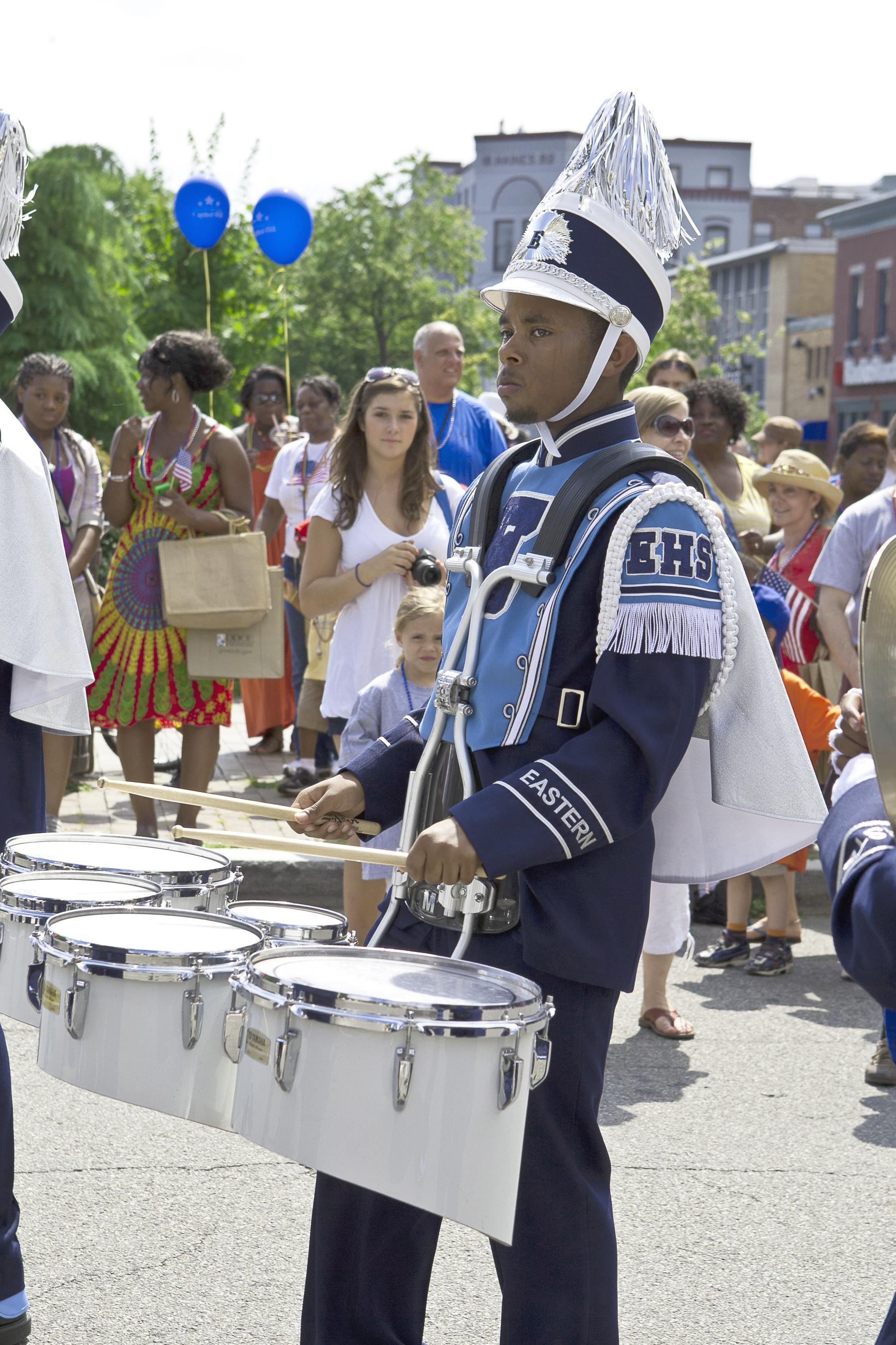 Eastern High School Drummer
