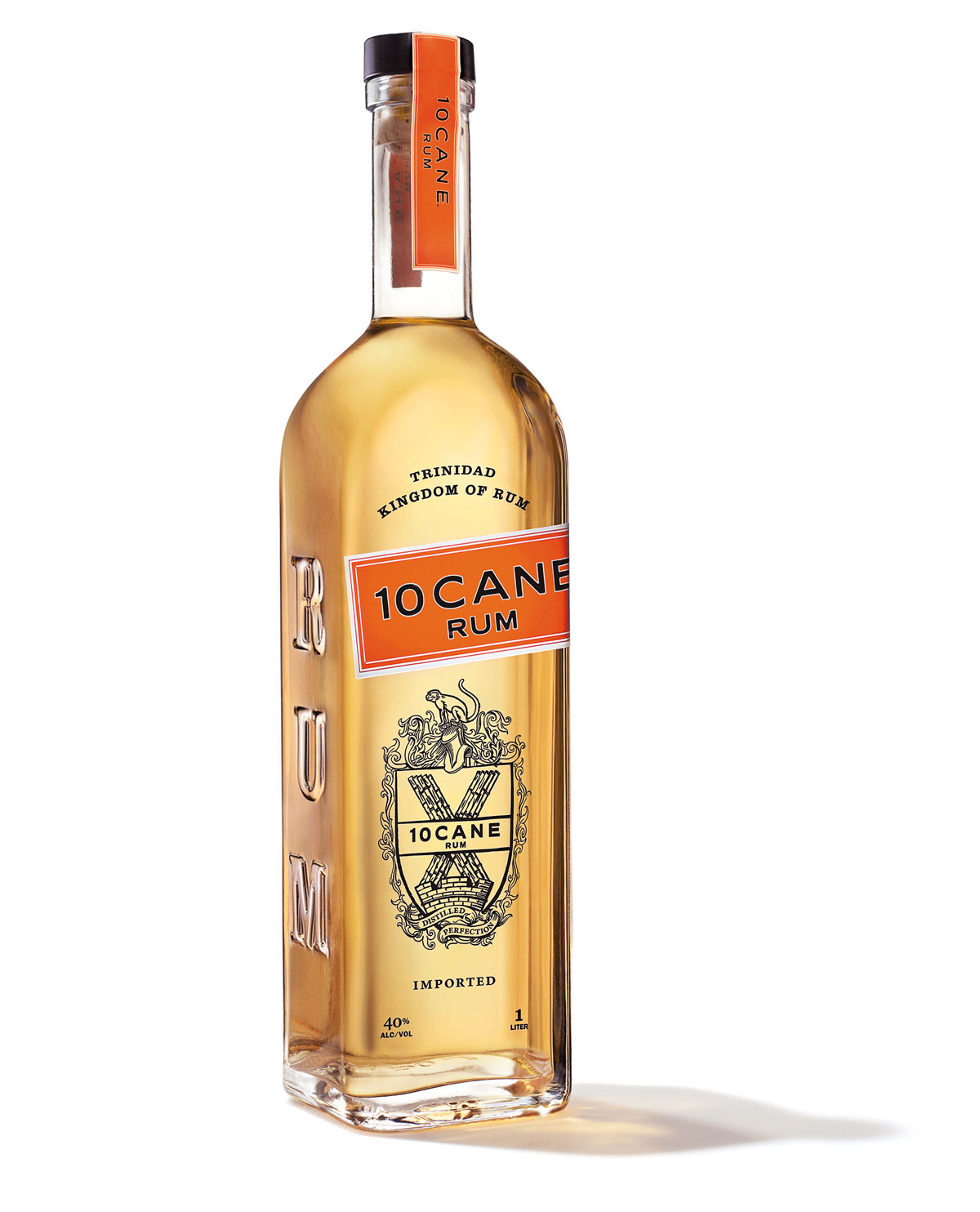 10 Cane Premium Rum Packaging Design by Benard Creative Including Bottle Design, Branding Collateral, and Brand Positioning
