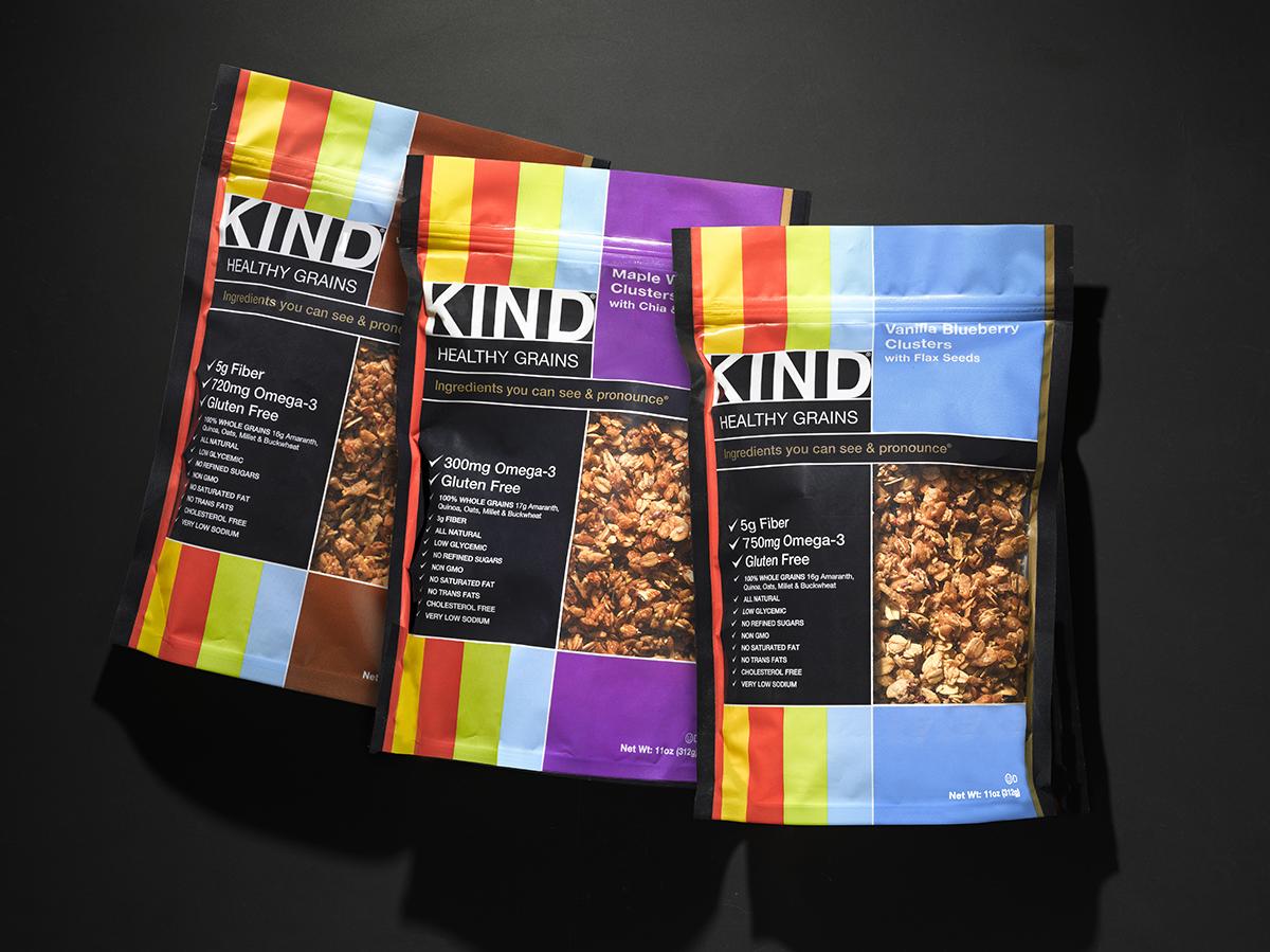Kind Healthy Snacks Eco-Friendly Packaging by Benard Creative