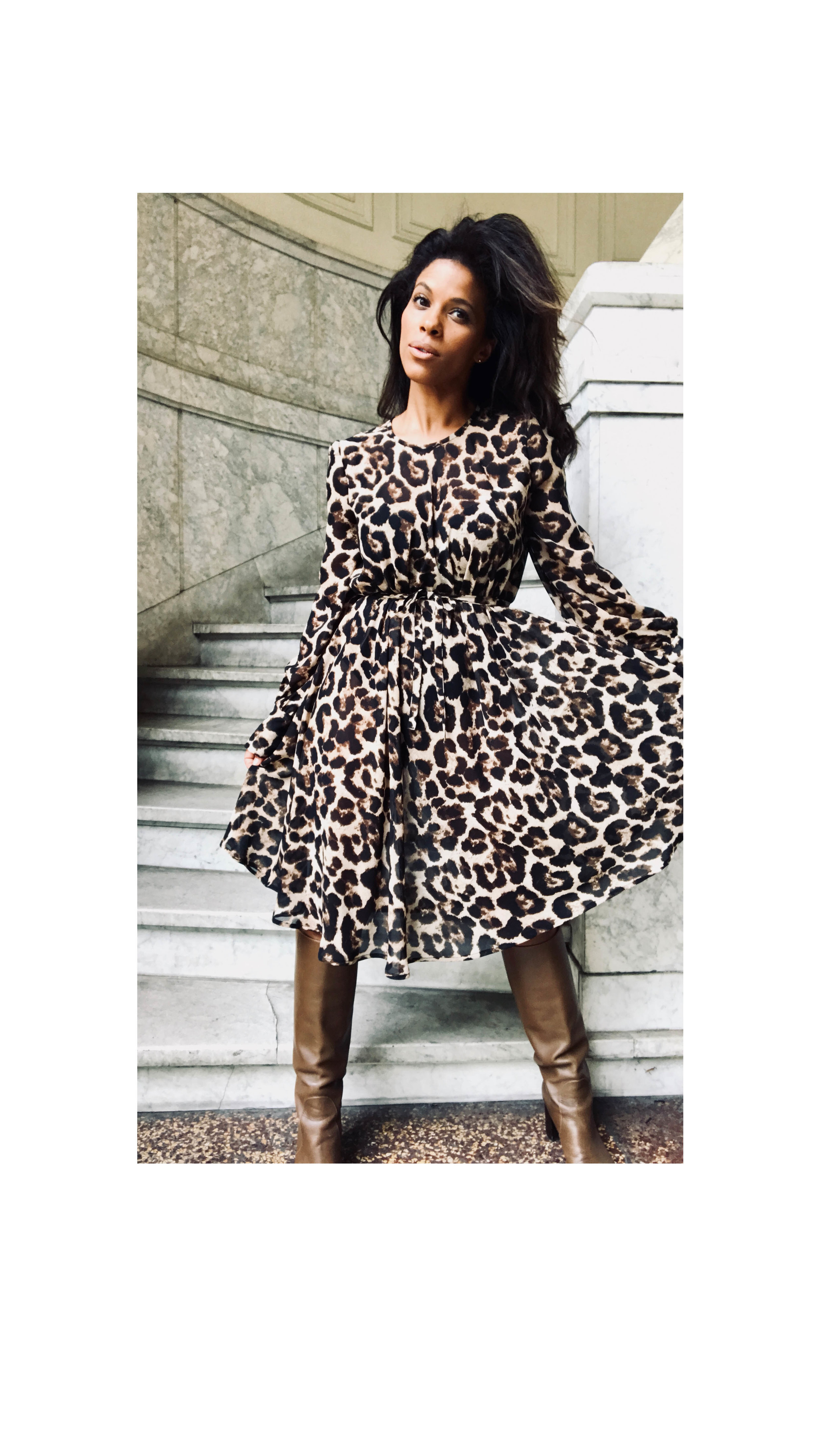 Leopard Jurk - Shop the Look