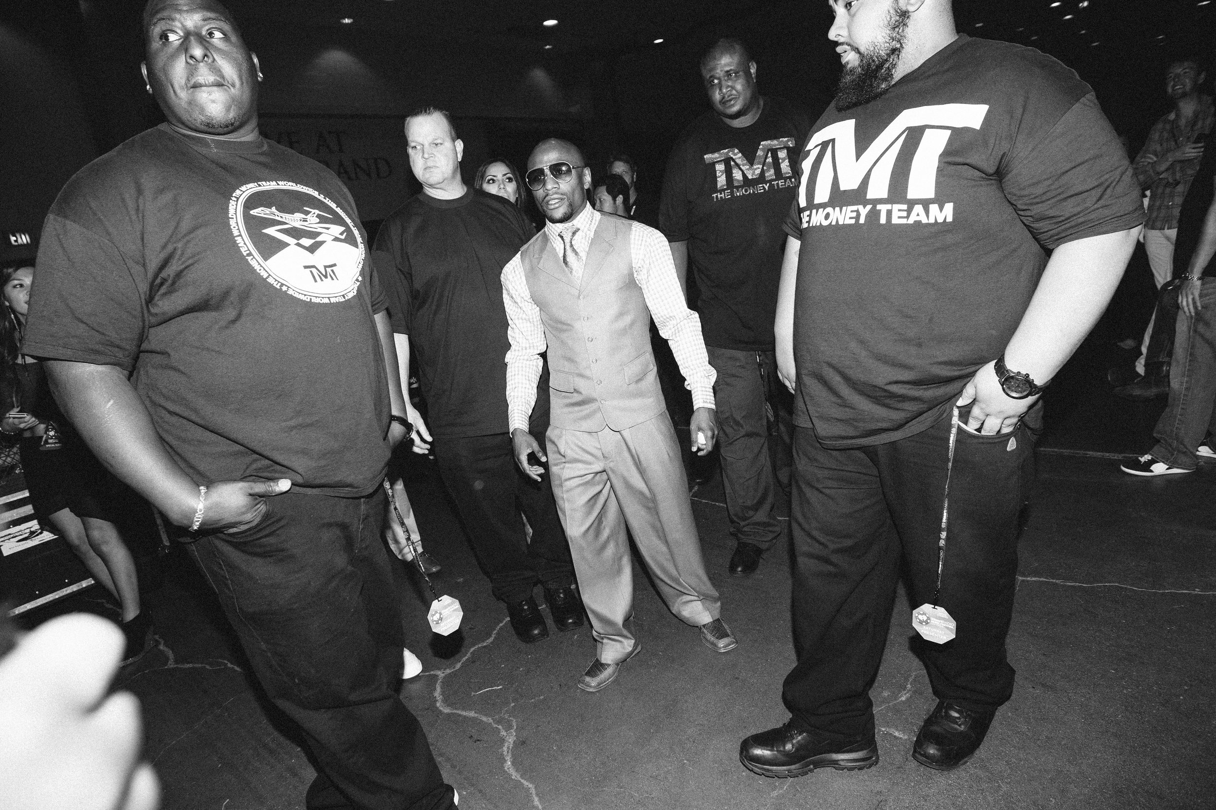Floyd Mayweather, LasVegas, MGM Grand