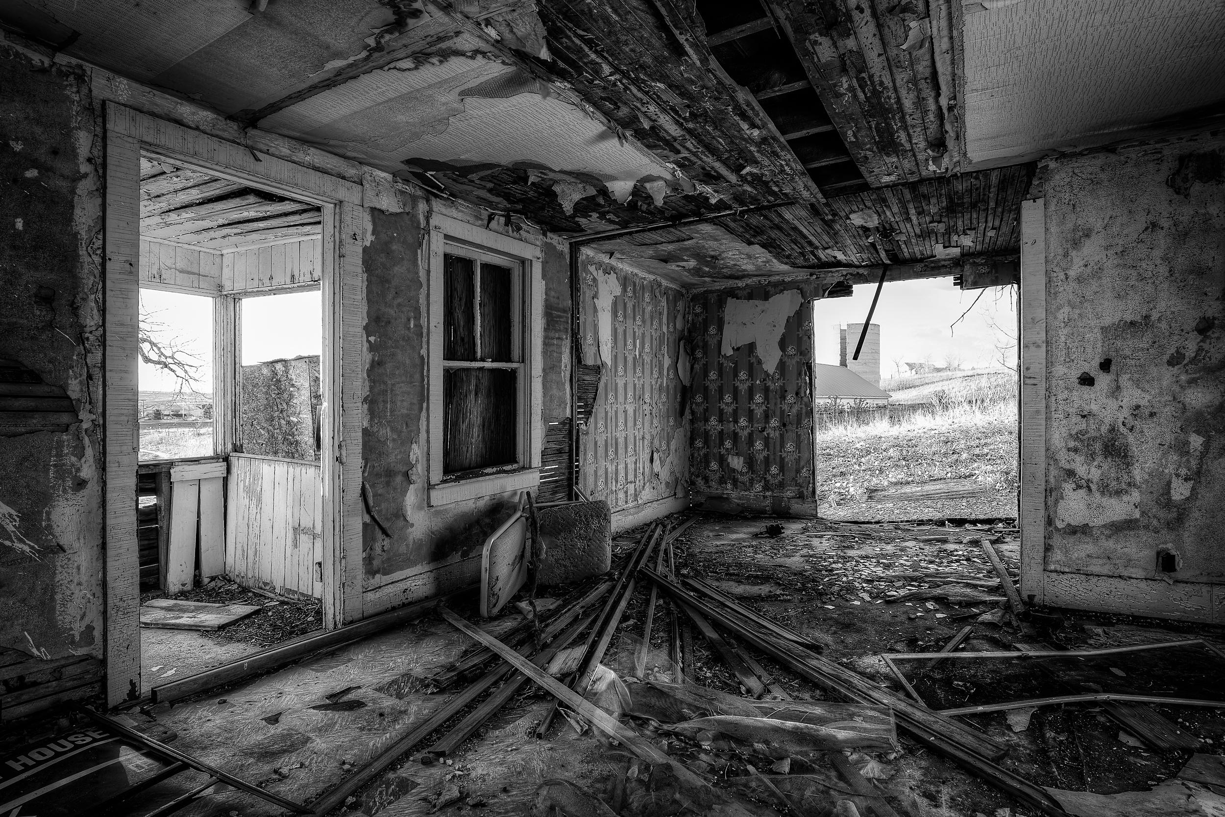 An abandoned house near my home