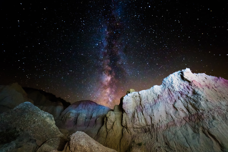 Milky Way at the Paint Mines