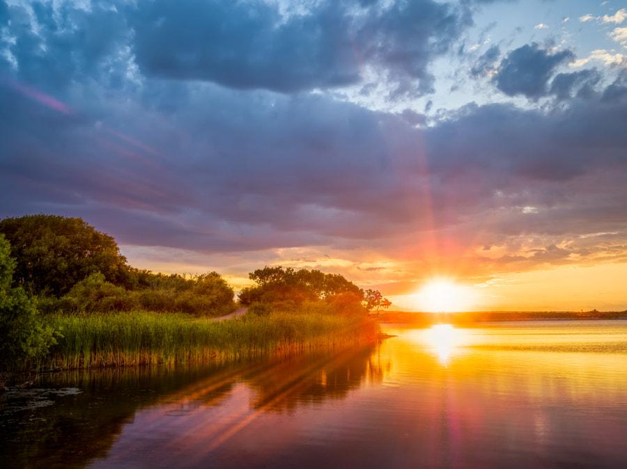 Summer Evening at Bingham Lake